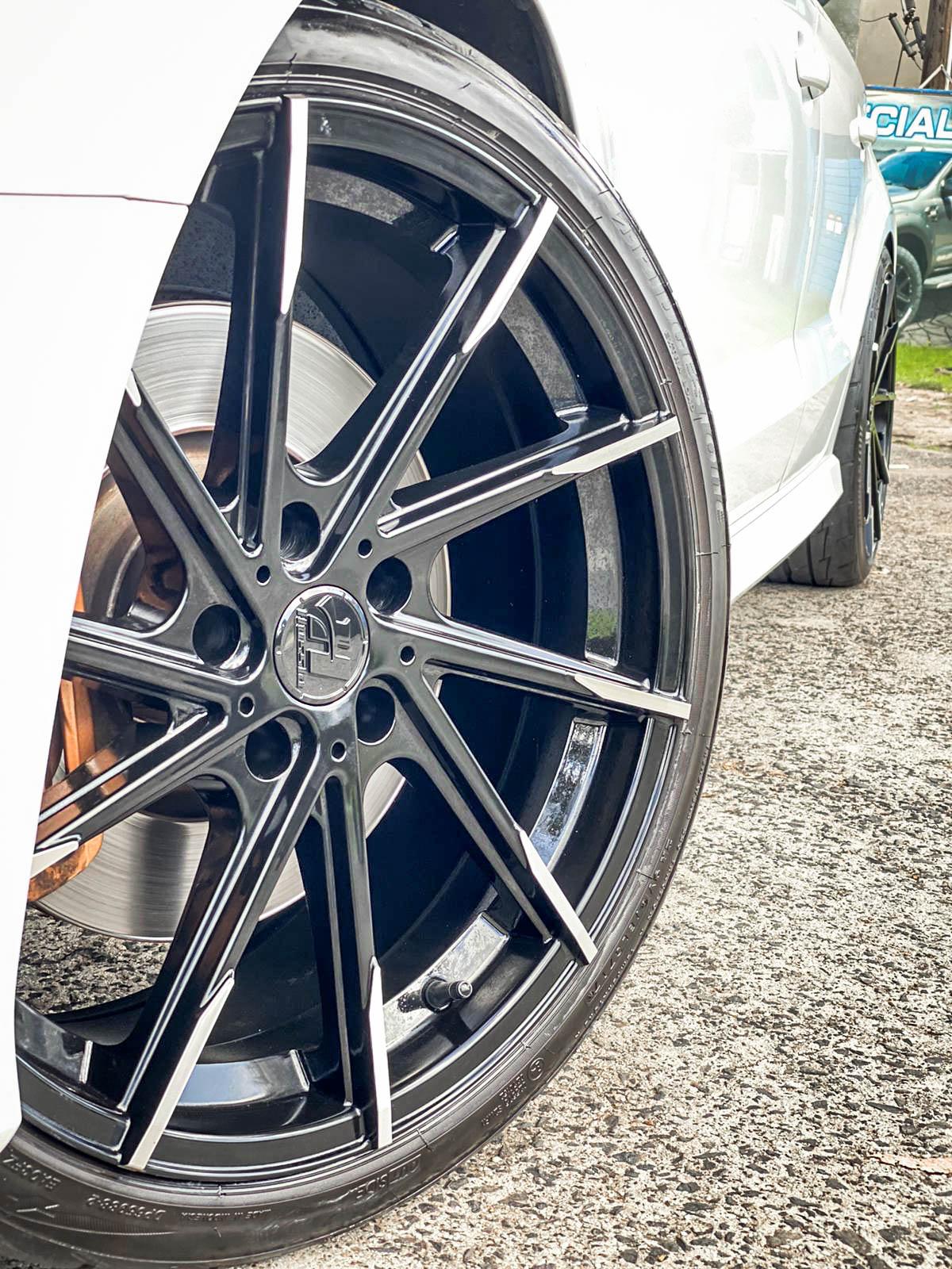Audi s3 on hussla alz gloss black 3 of 4