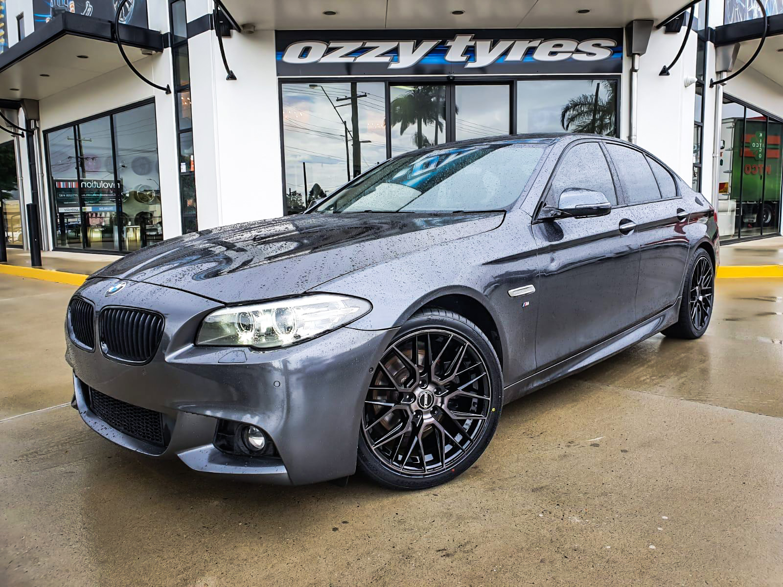 BMW on hussla Lit dark tint 1 of 4 1