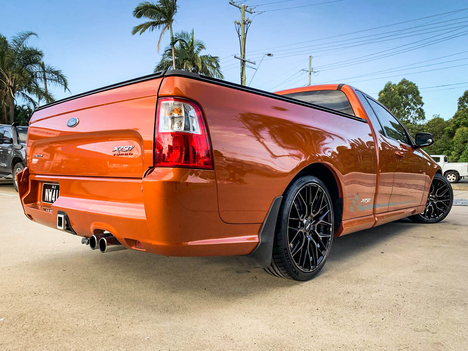 Ford Falcon XR50 on hussla lit Dark tint 3 of 4