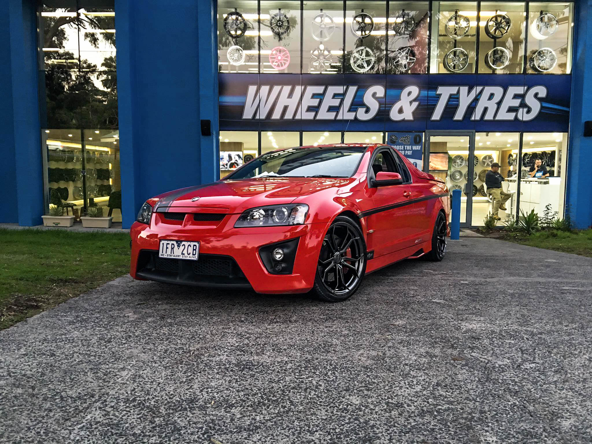 Maloo holden with chromium Hussla Royalty 3 1 1