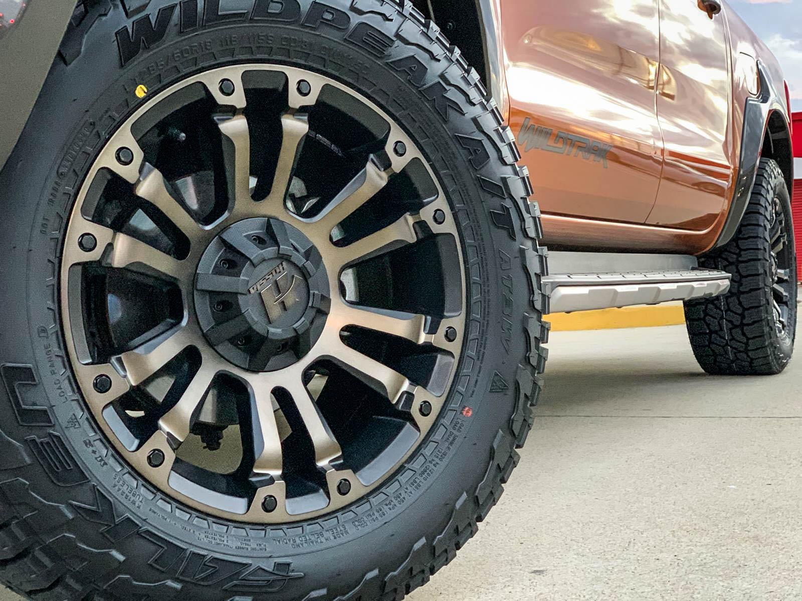 Ford Ranger on hussla ambush bronze tint4 2