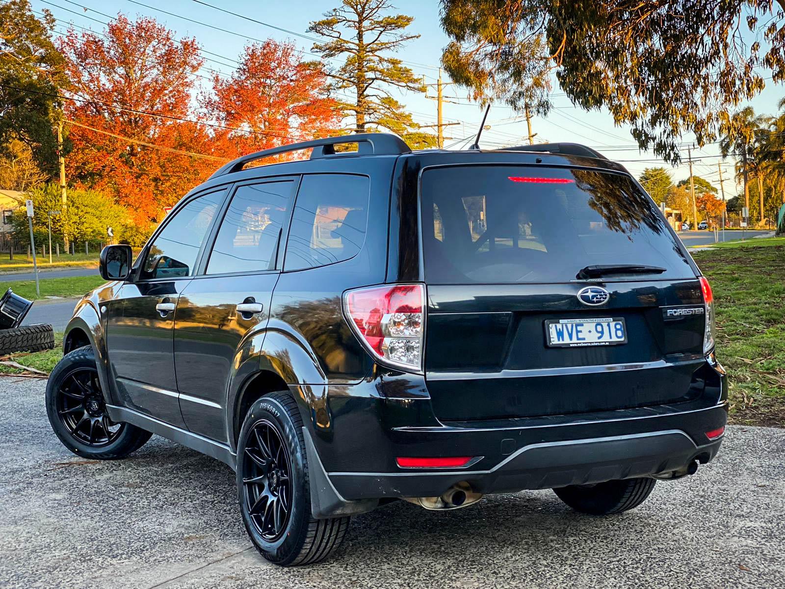 Subaru Forester on hussla 027 matte black3